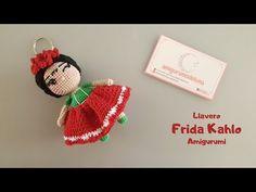 Como tejer un LLAVERO FRIDA KAHLO AMIGURUMI a CROCHET paso a paso - YouTube #amigurumipattern #crochetpattern #amigurumifreetutorial #crochetdoll #amigurumidoll #fridakahlo Crochet Keychain, Crochet Earrings, Amigurumi Doll, Crochet Dolls, Crochet Patterns, Diy Crafts, Christmas Ornaments, Youtube, Ariel
