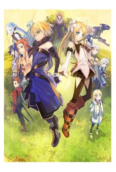 Tales of Symphonia II: Dawn of the New World.