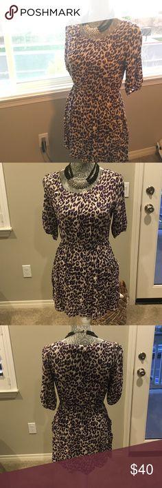 Spotted while shopping on Poshmark: Animal Print Dress! #poshmark #fashion #shopping #style #Forever 21 #Dresses & Skirts