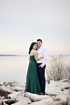 This gorgeous couple celebrated their anniversary with a simple seaside photo shoot, and we can feel the love! Wedding 2015, Wedding Shoot, Wedding Ideas, Evergreen Wedding, Romantic Love Stories, Anniversary Photos, Wedding Photography Inspiration, Indian Bridal, Engagement Shoots