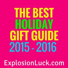 Best holiday gifts at ExplosionLuck.com