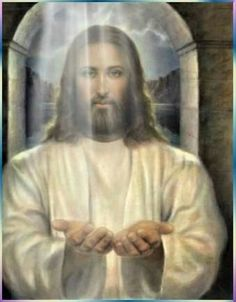 """""""Jesus Christ is the Master (Teacher) who best respected the human person, who develops our natural and supernatural faculties, elevating and guiding us. It's hard to stop tears, when power is Us alive. Pictures Of Jesus Christ, Religious Pictures, Religious Art, Jesus Our Savior, Jesus Is Lord, Jesus Face, Christian Art, Jesus Loves, Prayers"""