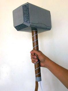 Thor Hammer Papercraft (Avengers Version) | Tektonten Papercraft