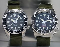 Seiko SBDC001 and Orient CFD0C001B The Orient 300m diver is often compared to the Seiko 200m SBDC001 (aka Sumo) because both watches have similar case diameter and are of similar style. The Orient …