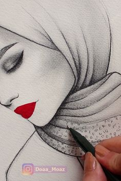 Watercolor red lips Sígueme Allison Guzman You are in the right place about Zeichnungen kugelschreiber einfach Here we offer you the most beautifu… - nimivo sites Pencil Art, Art Drawings Simple, Art Painting, Sketches, Art Sketchbook, Art Drawings Sketches, Drawing Sketches, Art, Art Sketches