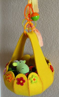 Parrot / Sugar Glider Snuggle Swing Felt by PeppinsPlayPalace, $22.00