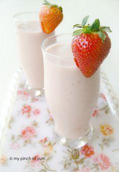Strawberry Banana Smoothie3