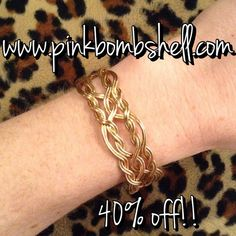 The Morning Glory Bracelet by Ronaldo 40% OFF!! #ronaldo #sale #discount #bracelet #jewelry