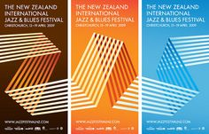 The New Zealand International Jazz & Blues Festival - All that jazz Retro Graphic Design, Graphic Design Typography, Jazz Festival, Festival Posters, Brown Image, Jazz Poster, Book Posters, Poster Series, Branding