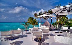 The Maldives on the balcony at Niyama resort