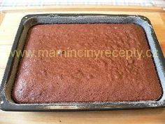 Krtkův dort na plechu Red Velvet Cheesecake, Sheet Pan, Banana Bread, Food, Pies, Springform Pan, Meals, Yemek, Cookie Tray
