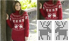 Knitted Winter Holidays' Jumper