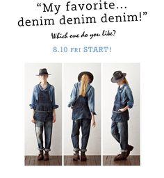 """My favorite… denim denim denim!"" no.02   JOURNAL STANDARD LADY'S 公式ブログ"