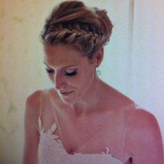 Braid up do- braidsmaid hair? Braid up do- braidsmaid hair? Braid up do- braidsmaid hair? Romantic Hairstyles, Fancy Hairstyles, Braided Hairstyles, Wedding Hairstyles, Bridesmade Hairstyles, Biolage Hair, Hair Porosity, Playing With Hair, Love Hair