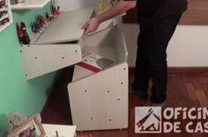 Caixa para guardar sobras – como fazer – Oficina de Casa