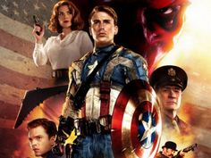 Captain America The First Avenger promotional artwork by uncredited artist