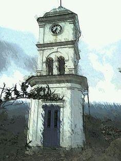 Πόρος Πύργος του Ρολογιού Poros Clock Tower