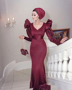 Hijab Dress Party, Hijab Wedding Dresses, A Line Prom Dresses, Evening Dresses, Formal Dresses, Modest Fashion Hijab, Fashion Dresses, Cute Dresses For Party, Elegant Dresses For Women