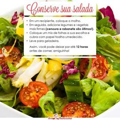 Conservando salada