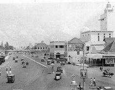Soerabaja Aloon-Aloon Straat 1930. stichtingadinda.