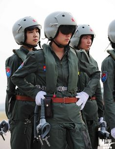 Chinese Female Fighter Pilots | Chinese Military Review