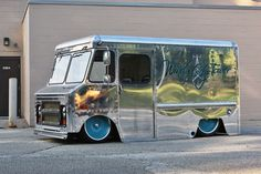 1970 Chevy P10 Van with a LSx