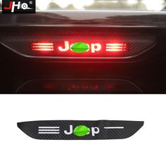 JHO Car Decal Accessories Carbon Fiber Stickers For Jeep Grand Cherokee Tail Brake Light. For Jeep Grand Cherokee 2014 2015 2016 2017 Remove protective film on the products, spray water on the sticker backside. Car Stickers, Car Decals, Jeep Grand Cherokee Accessories, Grand Cherokee 2014, Carbon Fiber, Bumper Stickers For Cars, Car Decal