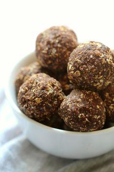 10. Mint-Chocolate-Sunflower-Bites - 18 Protein Bites Recipes