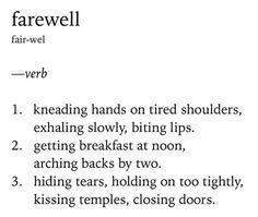 Dictionary poem