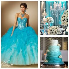 Winter Wondeland Theme | Quinceanera Ideas | Quinceanera Cake | Quinceanera Decoration |