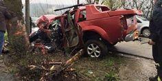 ΦΩΤΟ - Νεκρός 40χρονος σε τροχαίο - Δεν υπήρχε οδηγός για το ασθενοφόρο του ΕΚΑΒ