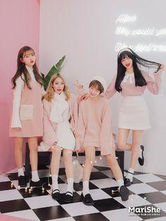Pink Fashion, Cute Fashion, Daily Fashion, Fashion Outfits, Fashion Trends, Korea Fashion, Asian Fashion, Pretty Outfits, Cute Outfits