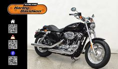 2016 HARLEY-DAVIDSON XL1200C in Black At Auckland Harley-Davidson,  New Zealand www.amps.co.nz