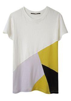 proenza schouler Geometric pattern t-shirt