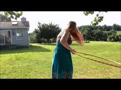 Beginner Hula Hoop Tricks: The Duck-In - YouTube