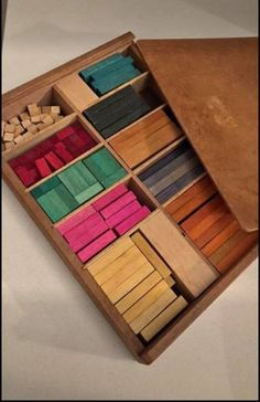 Box of wooden blocks, used in Infant School to help with maths, or simply for building with when the Teacher wasn't looking. Retro Toys, Vintage Toys, Retro Vintage, 1970s Childhood, My Childhood Memories, 1990s Kids, Nostalgic Images, Math For Kids, Ol Days
