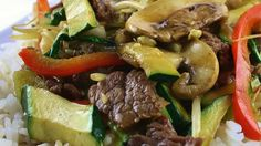 """Asian Beef with Snow Peas I """"Some kids will go for the peas, others won't. This dish is DELICIOUS and SO easy to make."""""""