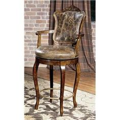 Century Chair  Victorian Inspired Bar Stool  by Century