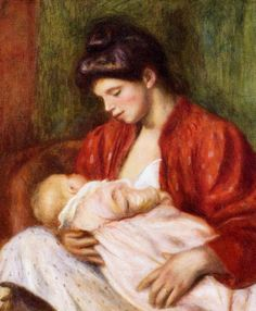 Young Mother, 1898 Pierre- Auguste Renoir