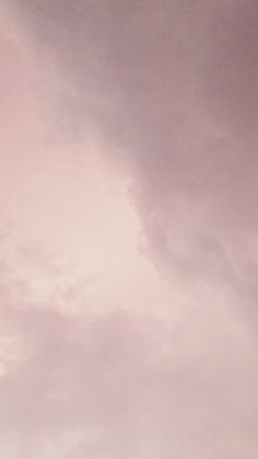 Pink aesthetic cloud wallpaper