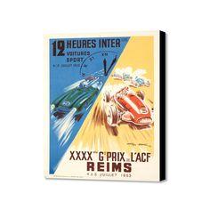 """12 Heures Inter (20"""" x 16"""")"""