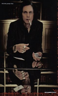 His Infernal Majesty. Ville Valo, Out Of My Mind, Old Love, Him Band, Music Bands, Cool Bands, Handsome, Singer, Bill Skarsgard