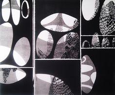 View From My Sponge #3 by Phoebe Middleton - Printmaker - Tasmanian artist