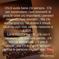 Chi ti vuole Bene c'è Italian Quotes, Hello Beautiful, Wish, Inspirational Quotes, Feelings, Sayings, Words, Genere, Frases