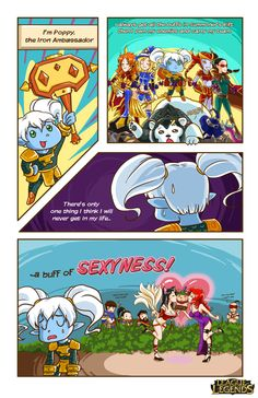 LoL Comic contest by Musettethecat.deviantart.com on @deviantART