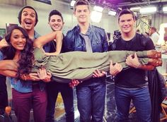 Alex and Sierra with Restless Road