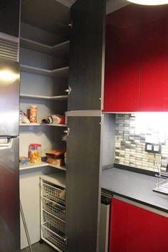 Cocinas tipos de muebles para organizar tu cocina madrid for Alacenas de cocina modernas
