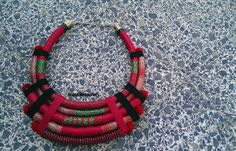Statement necklace African necklace african jewelry bib