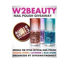 Ceva de umplut timpul | Something to fill the time: Crystal Style Nail Polish #Giveaway