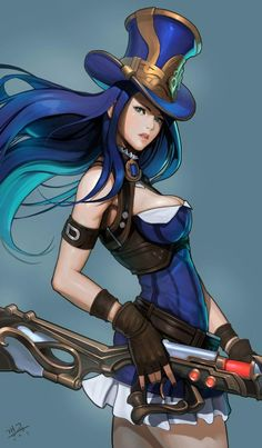caitlyn league of legends
